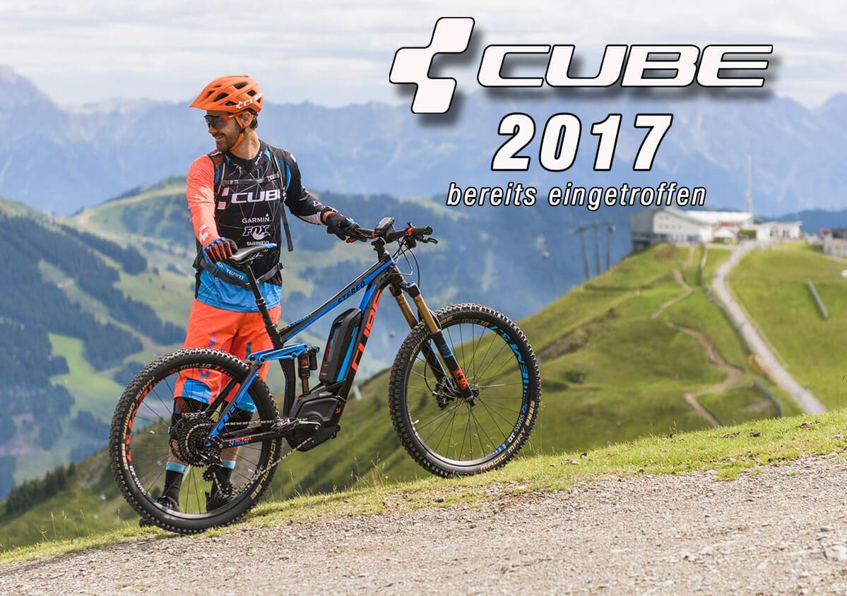 Die neuen Cube Modelle von 2017 sind eingetroffen