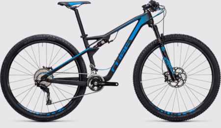 Cube AMS 100 C:68 Race 29 blue carbon (2017)