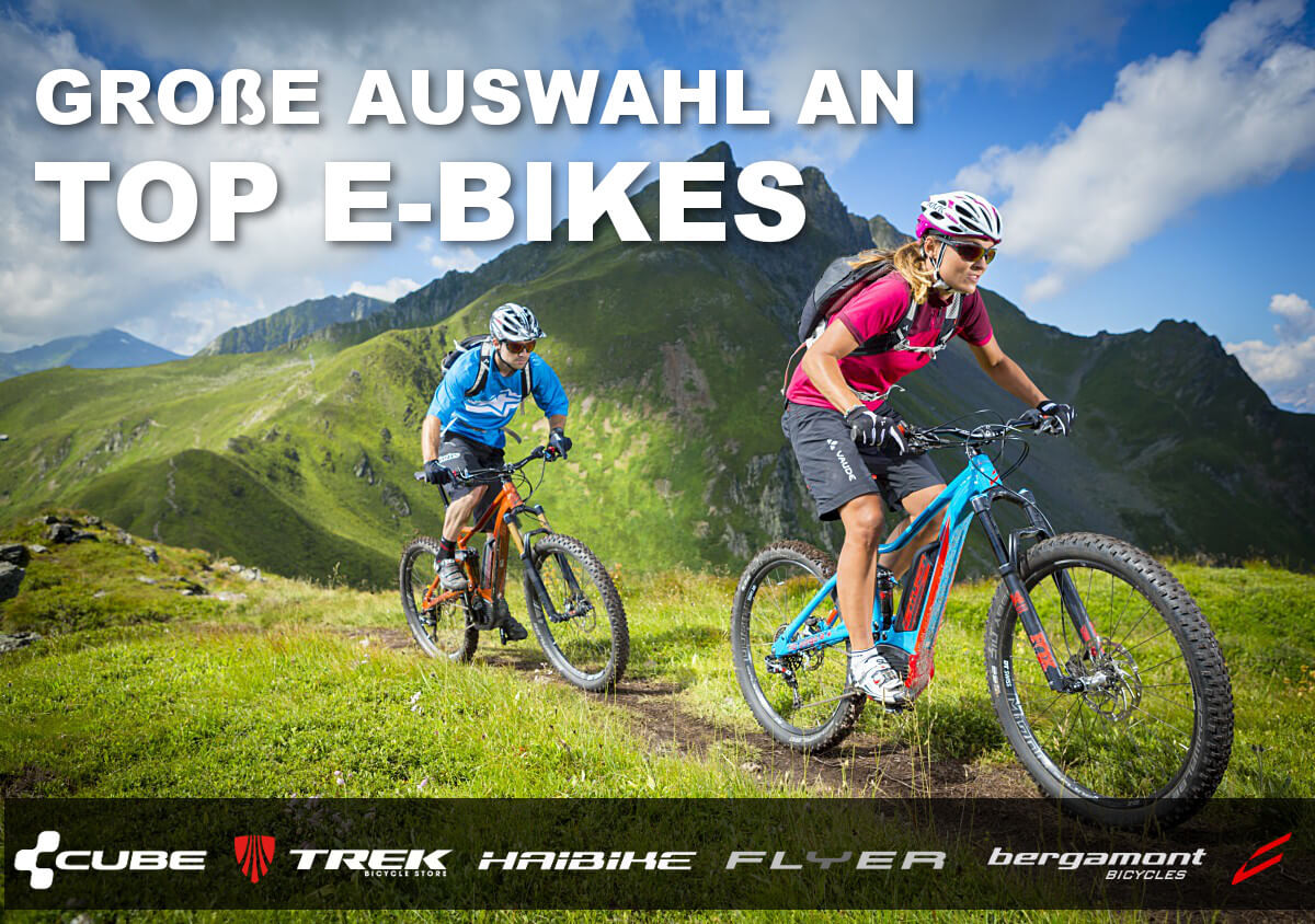 Große Auswahl an Top Ebikes