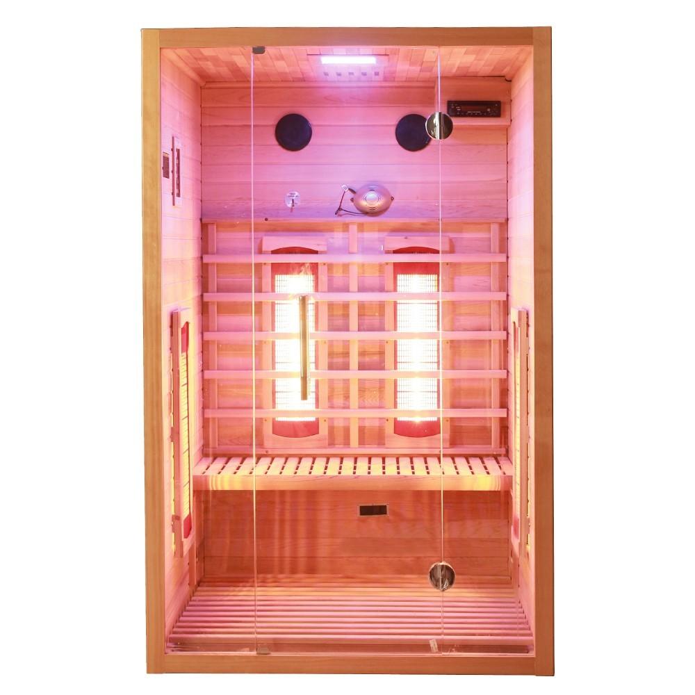 infrarotkabine zanier visio ii rotlicht tyl4sports villach. Black Bedroom Furniture Sets. Home Design Ideas