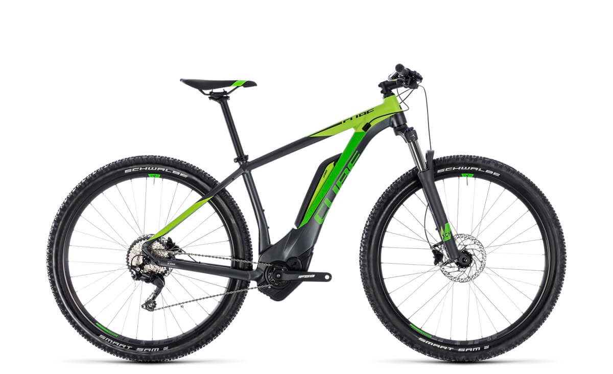 Cube Reaction Hybrid Pro 500 iridium´n´green 2018