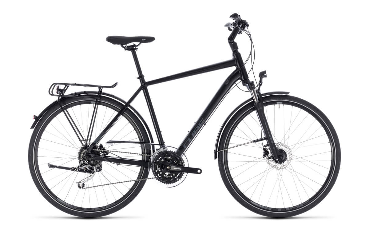 Cube Touring EXC black´n´grey 2018