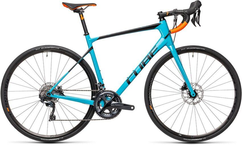 Cube Attain GTC SL petrol´n´orange (Bike Modell 2021) bei tyl4sports.at