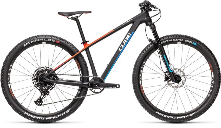 Cube Reaction C:62 Rookie carbon´n´blue´n´red (Bike Modell 2021) bei tyl4sports.at