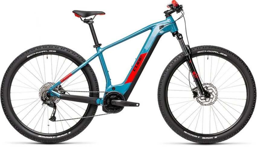 Cube Reaction Hybrid Performance 500 blue´n´red (Bike Modell 2021) bei tyl4sports.at