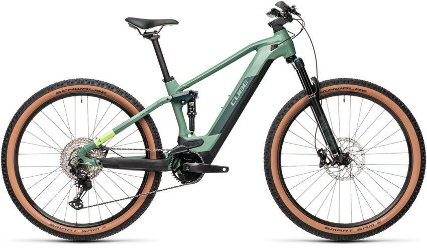 Cube Stereo Hybrid 120 Race 625 green´n´sharpgreen (Bike Modell 2021) bei tyl4sports.at