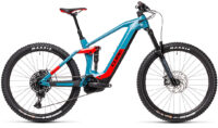 Cube Stereo Hybrid 160 HPC Race 625 27.5 blue´n´red (Bike Modell 2021) bei tyl4sports.at