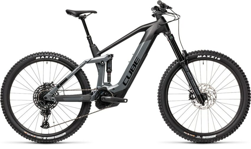 Cube Stereo Hybrid 160 HPC SL 625 27.5 grey´n´black (Bike Modell 2021) bei tyl4sports.at