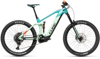 Cube Stereo Hybrid 160 HPC SL 625 27.5 pacific´n´red (Bike Modell 2021) bei tyl4sports.at