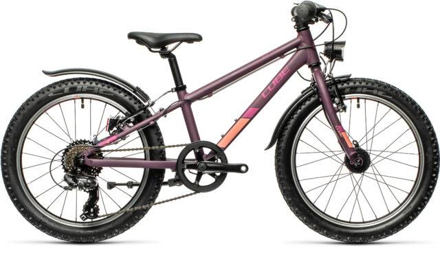 Cube Acid 200 Allroad purple´n´orange (Bike Modell 2022) bei tyl4sports.at