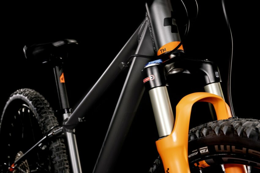 Cube Reaction 240 TM flashgrey´n´orange (Bike Modell 2022) bei tyl4sports.at