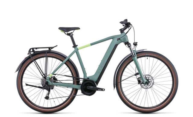 Cube Touring Hybrid ONE 400 green´n´sharpgreen (Bike Modell 2022) bei tyl4sports.at
