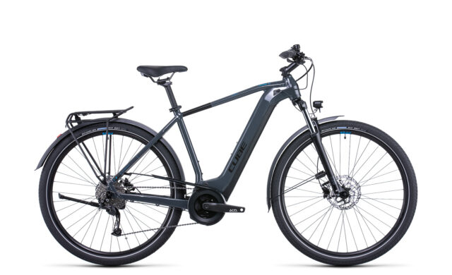 Cube Touring Hybrid ONE 400 grey´n´blue (Bike Modell 2022) bei tyl4sports.at
