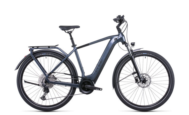 Cube Touring Hybrid Pro 625 metallicgrey´n´black (Bike Modell 2022) bei tyl4sports.at