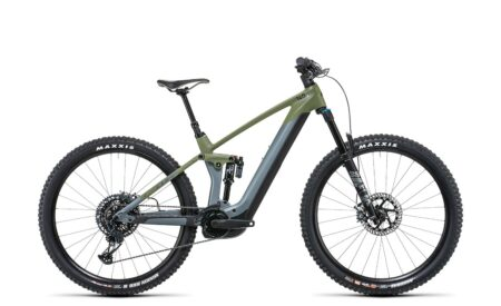 Cube Stereo Hybrid 140 HPC TM 750 29 flashgrey´n´olive (Bike Modell 2022) bei tyl4sports.at