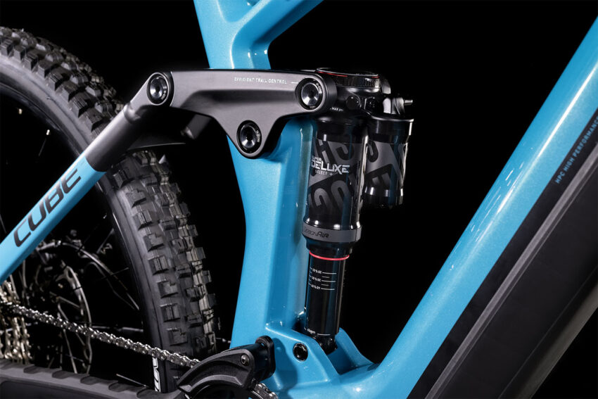 Cube Stereo Hybrid 160 HPC SL 750 27.5 aquamarine´n´black (Bike Modell 2022) bei tyl4sports.at