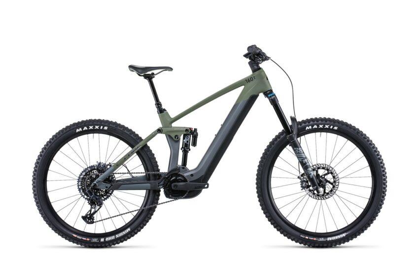 Cube Stereo Hybrid 160 HPC TM 750 27.5 flashgrey´n´olive (Bike Modell 2022) bei tyl4sports.at